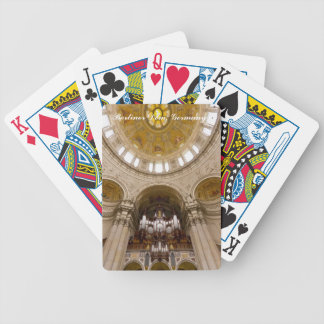 Naipes del órgano de la catedral de Berlín Baraja De Cartas
