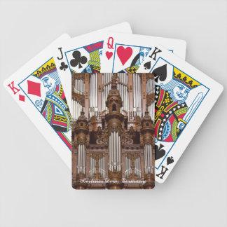Naipes del órgano de la catedral de Berlín Cartas De Juego