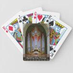 Naipes del órgano de la catedral de Magdeburgo Baraja Cartas De Poker