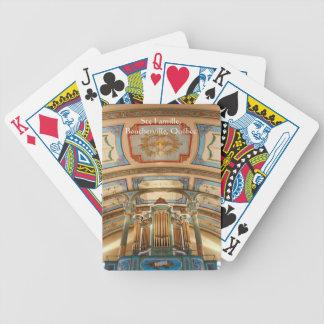 Naipes del órgano de Quebec Cartas De Juego
