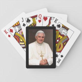Naipes del papa Benedicto XVI