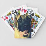 Naipes del perro baraja de cartas
