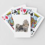 Naipes del perro de Shih Tzu Baraja De Cartas