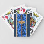 Naipes del personalizable de la tabla hawaiana de barajas de cartas