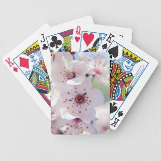 Naipes del personalizable de las flores de cerezo cartas de juego