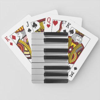 Naipes del personalizado del teclado de piano