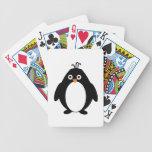 Naipes del pingüino barajas