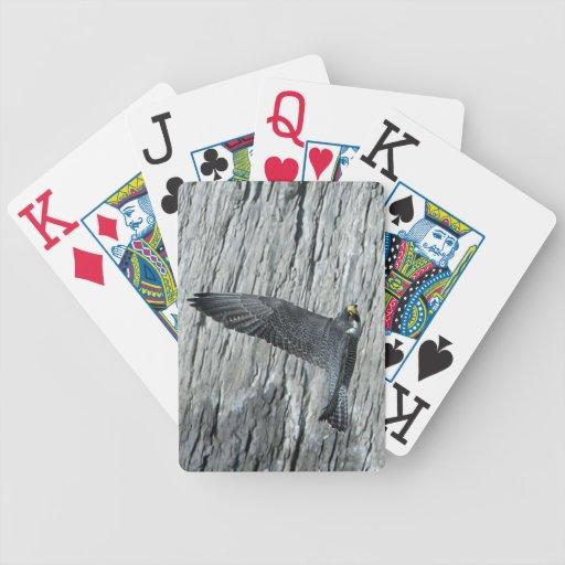 Naipes del póker de Mariah en vuelo Baraja
