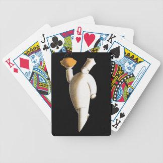 Naipes del póker del estilo de Deco de los panader Baraja De Cartas