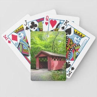 Naipes del puente cubierto baraja cartas de poker