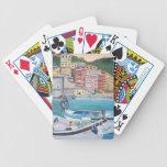 Naipes del puerto de Vernazza Baraja Cartas De Poker