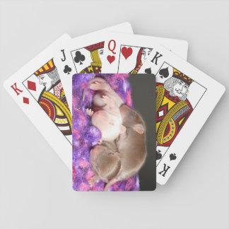 Naipes del ratón: 3 ratones del bebé