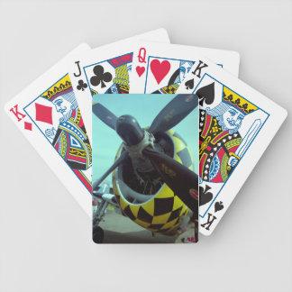 Naipes del rayo P-47 Baraja Cartas De Poker