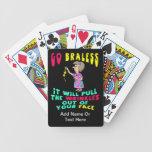 Naipes del regalo del retiro barajas de cartas