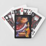 Naipes del rey y del gato barajas de cartas
