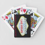 Naipes del signo positivo de la tira de Las Vegas Baraja Cartas De Poker