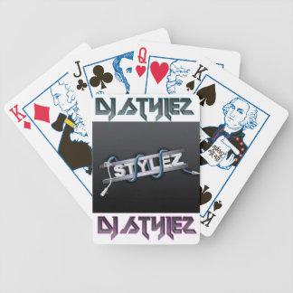 naipes del stylez de DJ Baraja De Cartas
