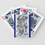 Naipes del tatuaje del tigre barajas de cartas