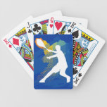Naipes del tenis barajas de cartas