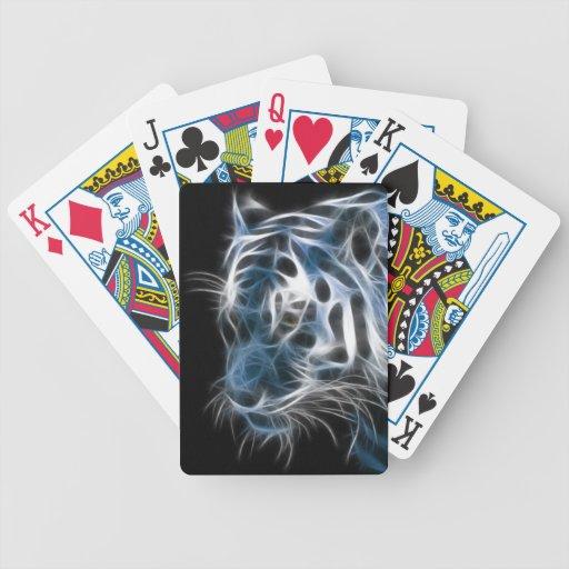Naipes del tigre baraja