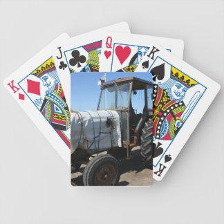 Naipes del tractor baraja de cartas