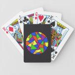 """Naipes del """"vitral"""" baraja cartas de poker"""