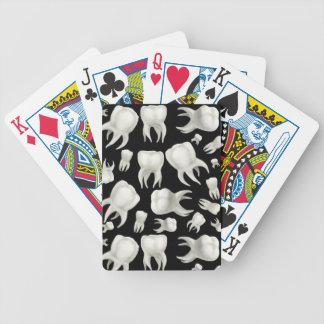 Naipes dentales del dentista de los sueños baraja de cartas