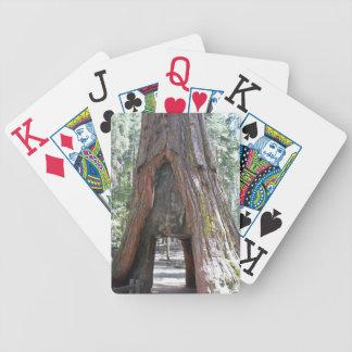 Naipes enormes personalizados del índice cartas de juego