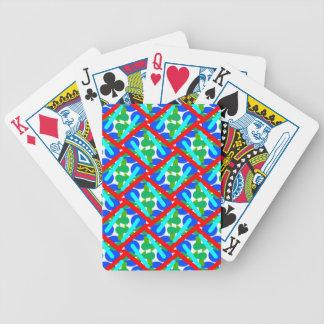 Naipes enrejados cartas de juego