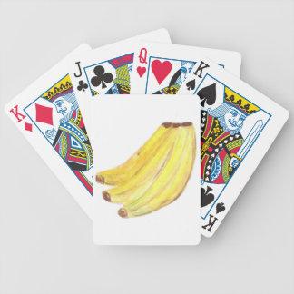 Naipes estándar - plátanos barajas