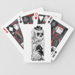 Naipes excelentes de Calavera Baraja Cartas De Poker