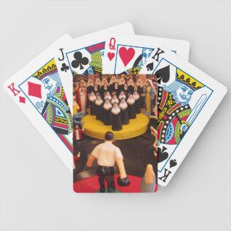 Naipes finales del marco baraja de cartas