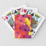 Naipes florales baraja de cartas