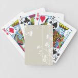 Naipes florales japoneses barajas de cartas