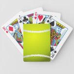 Naipes frescos del tenis baraja cartas de poker