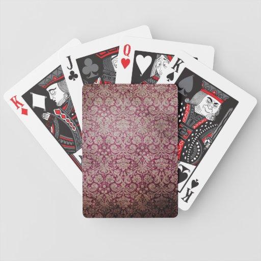 Naipes góticos barajas de cartas