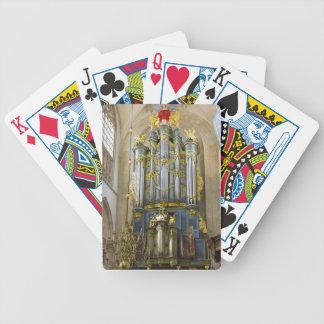 Naipes holandeses del órgano baraja de cartas