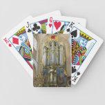 Naipes holandeses del órgano barajas de cartas