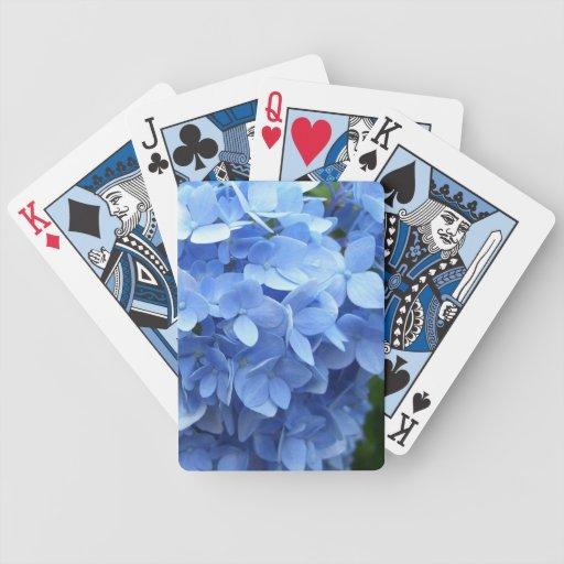 Naipes - Hydrangea azul Barajas
