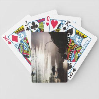 Naipes impares de las nubes baraja de cartas