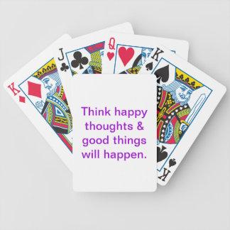 Naipes inspirados baraja de cartas