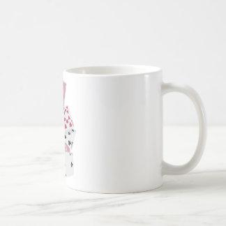 Naipes - juego a ganar - encantos afortunados taza de café