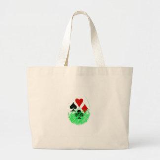 naipes large tote bag