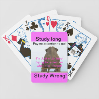 Naipes largos del mal del estudio del estudio del  barajas de cartas