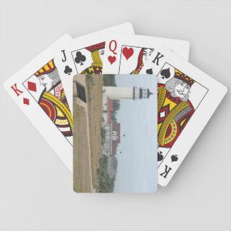 Naipes ligeros de la montaña barajas de cartas