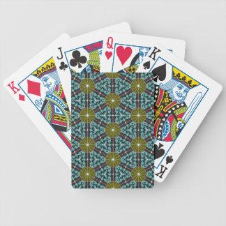 Naipes ligeros del diseño cartas de juego
