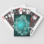 Naipes místicos del trullo del dragón baraja de cartas