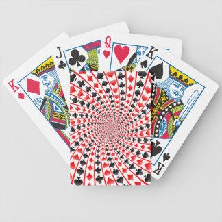 Naipes: Modelo espiral de los juegos Barajas De Cartas