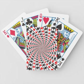 Naipes: Modelo espiral de los juegos Baraja Cartas De Poker