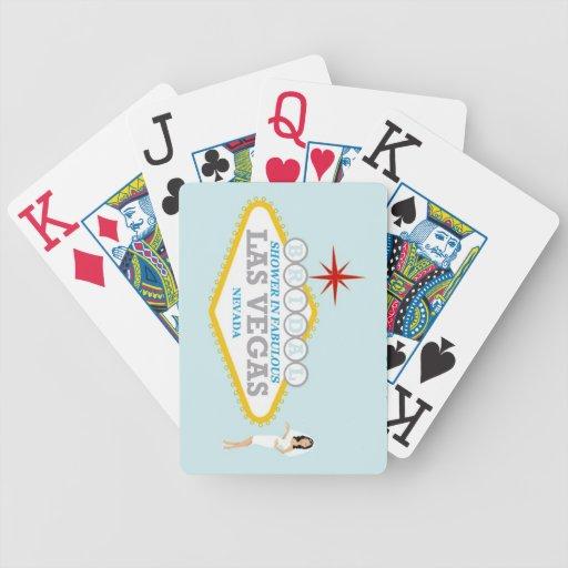 Naipes NUPCIALES de la DUCHA de Las Vegas Barajas